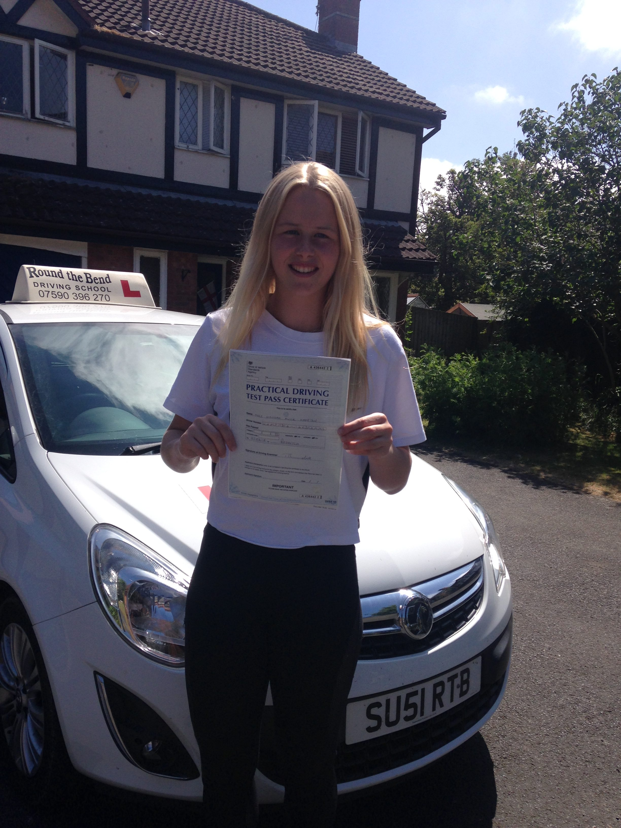 Female Driving Instructor - Studley, Alcester, Redditch, Warwick